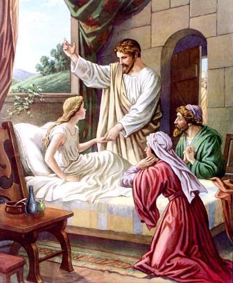 La Hija De Jairo Resucitada Por Jesús Literaturabautista Com
